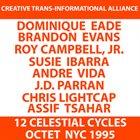 DOMINIQUE EADE 12 Celestial Cycles [OCTET] 1995 album cover